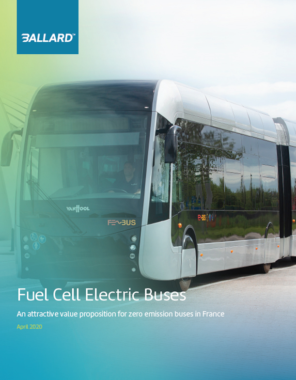 fuel cell electric buses france